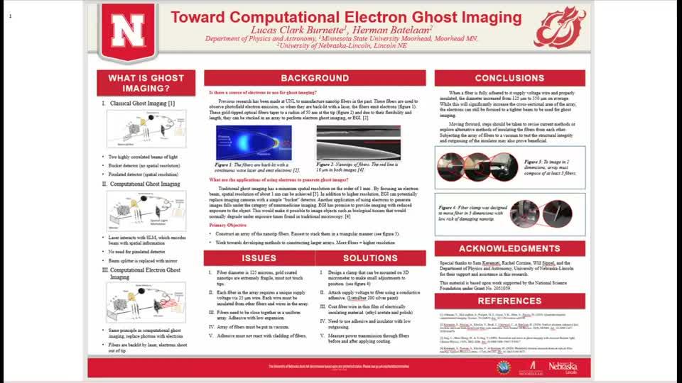 Toward Computational Electron Ghost Imaging