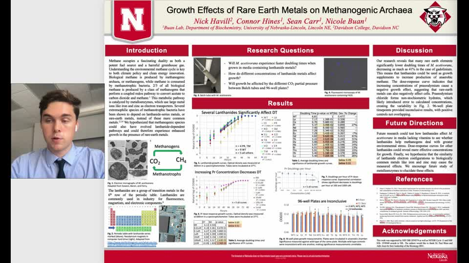 Growth Effects of Rare Earth Metals on Methanogenic Archaea