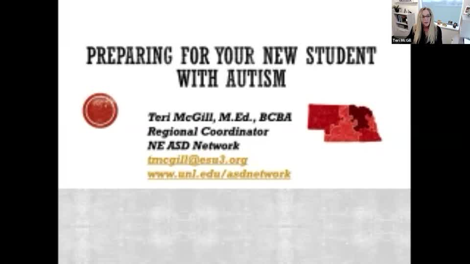 Getting Ready for A New Student with Autism