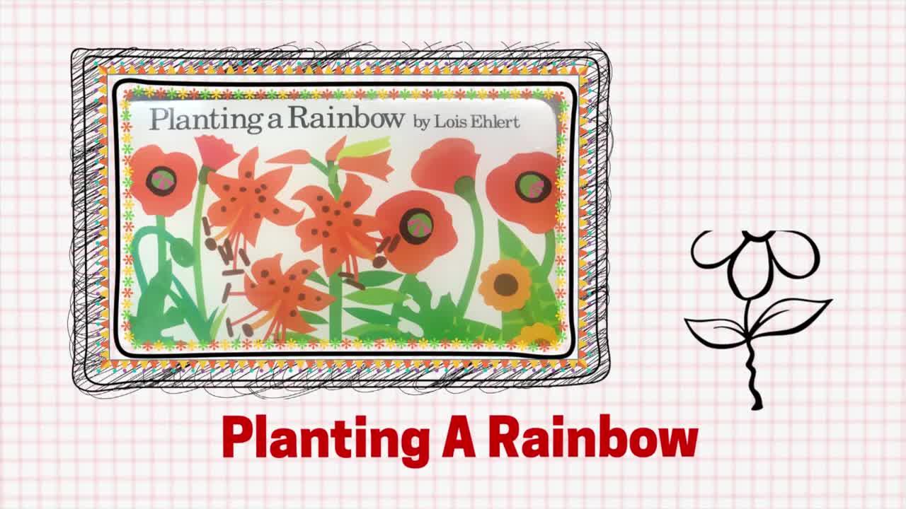 "Nursery - Storybook ""Planting a Rainbow"""