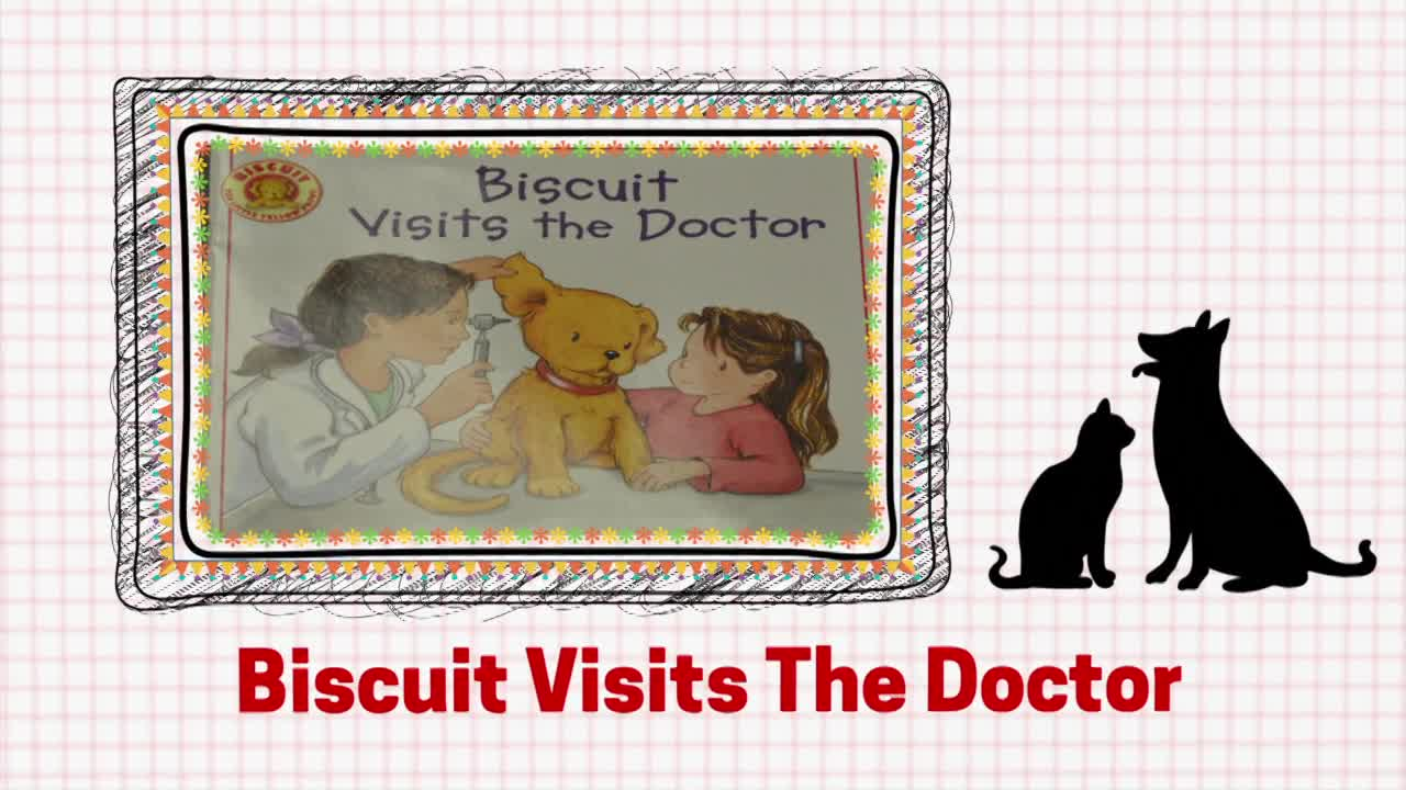 "Veterinarian Storybook  ""Biscuit Visits the Doctor"""