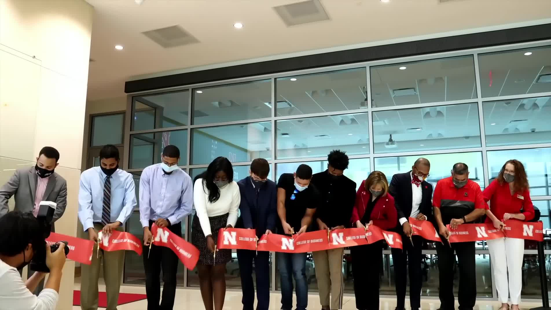 Diversity and Inclusion Gathering Space Opens at College of Business