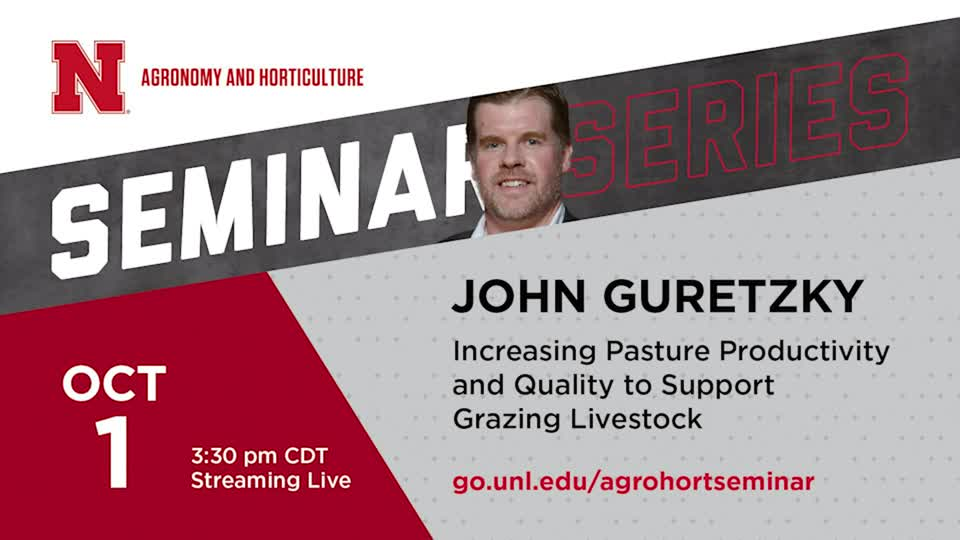 Increasing Pasture Productivity and Quality to Support Grazing Livestock