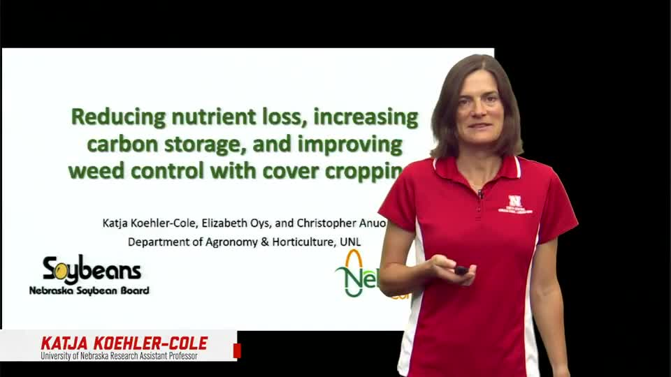 6- 2021 South Central Ag Lab Field Day - Reducing Nutrient Loss, Increasing Carbon Storage, and Improving Weed Control with Cover Cropping