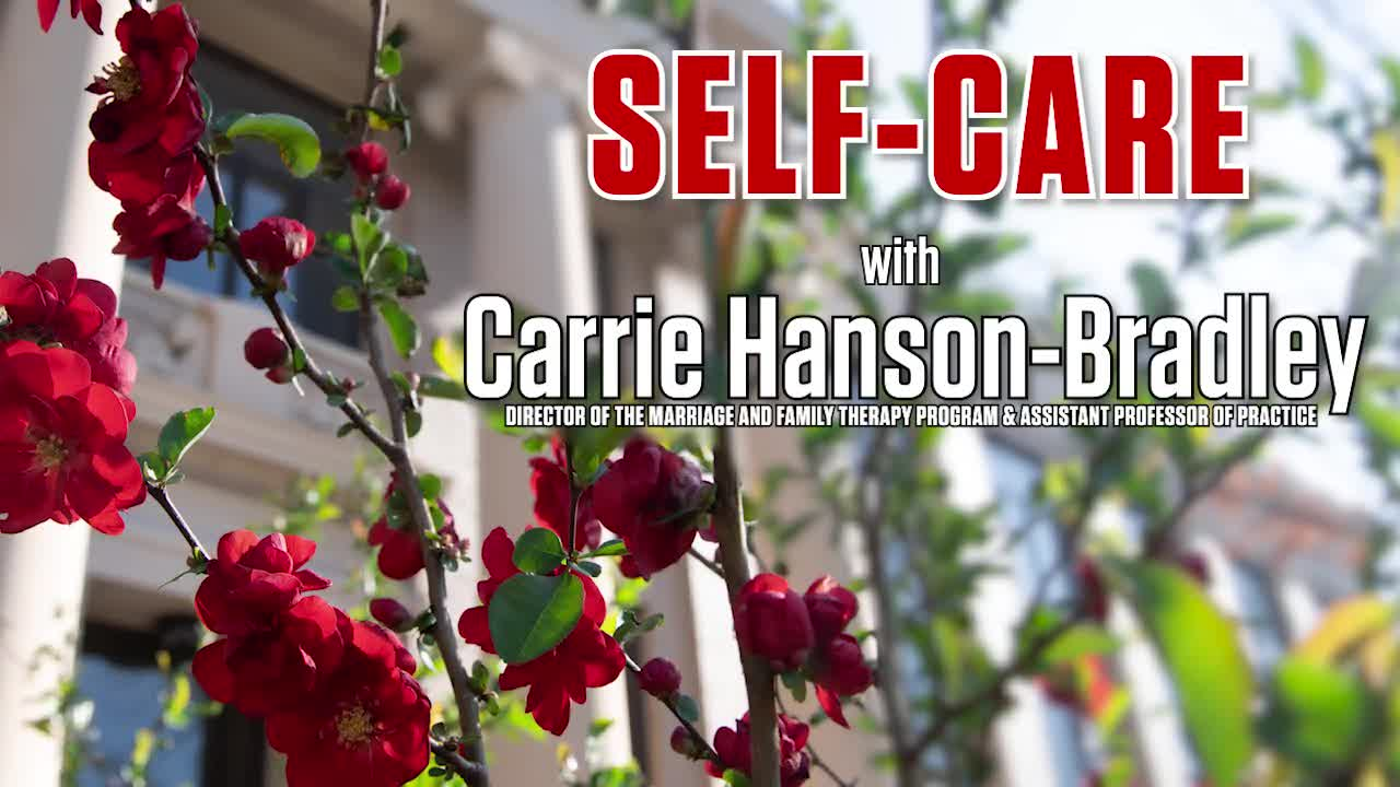 Stretching Your Strengths in CEHS - Self-Care with Dr. Paul Springer and Special Guest Carrie Hanson-Bradley