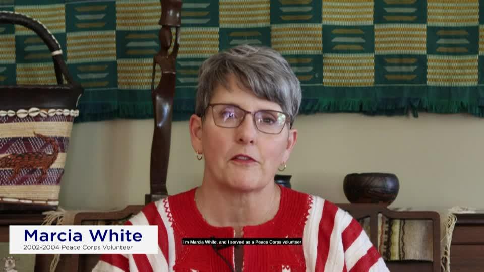 Marcia White Peace Corps Alumni Video