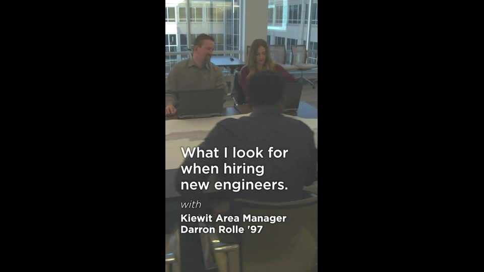 What I Look for When Hiring New Engineers