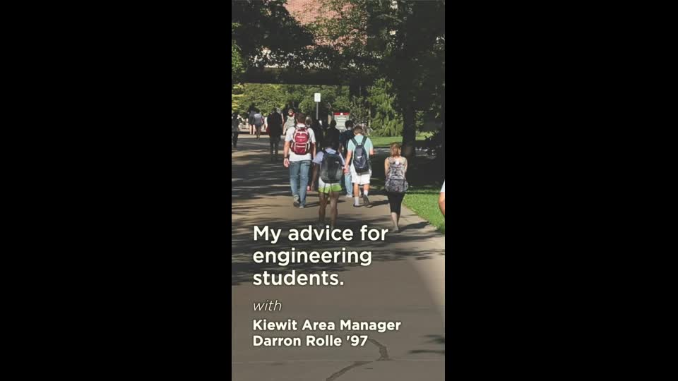 Advice for Engineering Students
