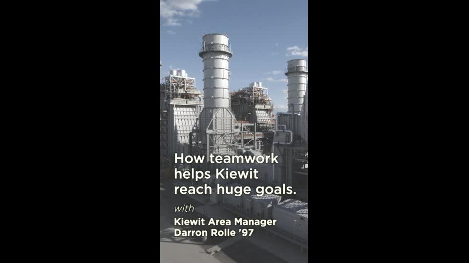 How Teamwork Helps Kiewit Reach Big Goals