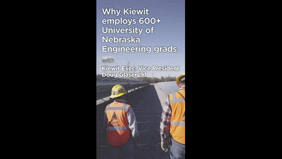 Why Kiewit Employs 600+ University of Nebraska Grads