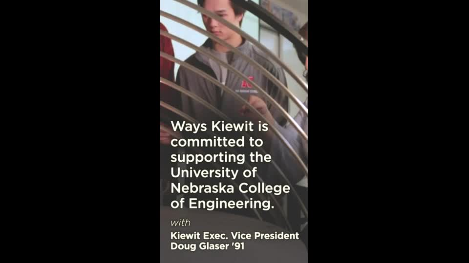 Ways Kiewit is Committed to College of Engineering