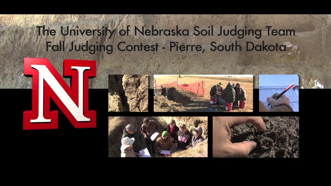 UNL Soil Judging Team 2011