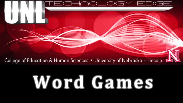 Tech Edge - Episode 19, Word Games