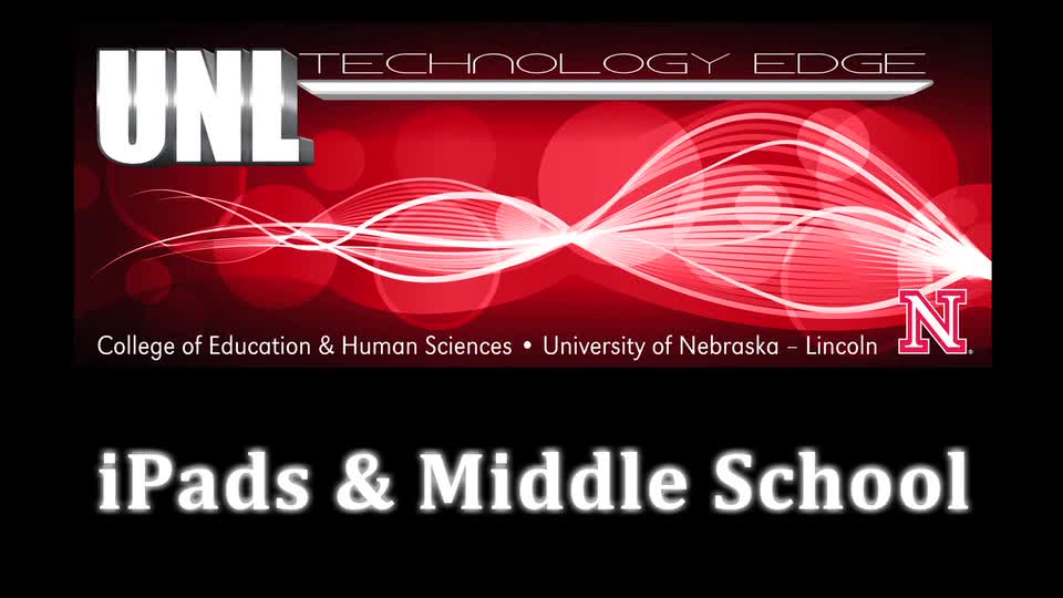 Tech Edge - Episode 28, iPads and Middle School