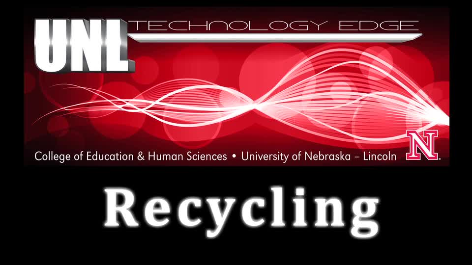 Tech Edge - Episode 30, Recycling