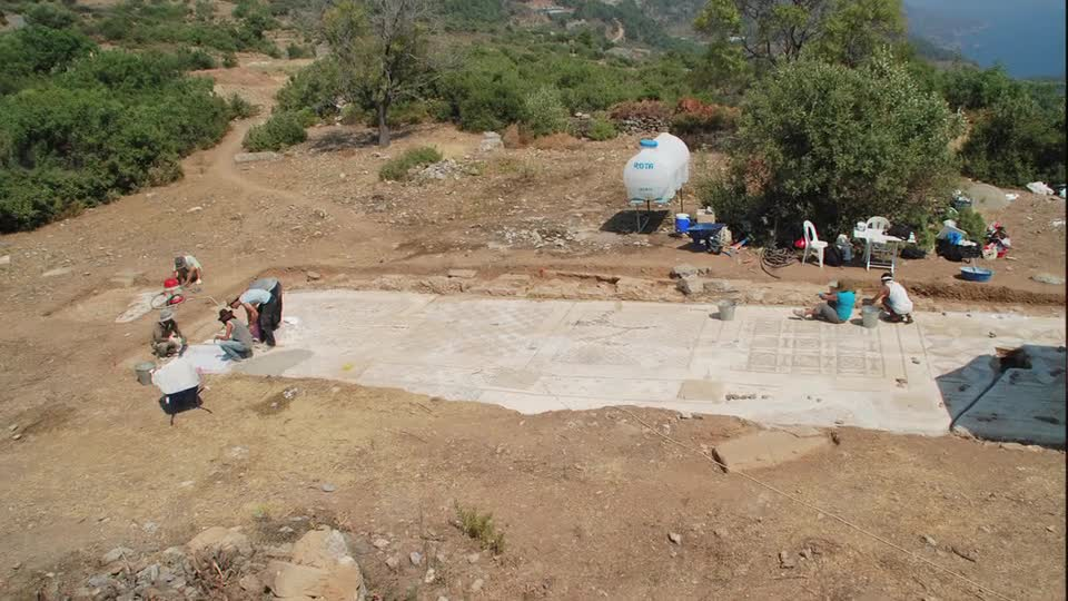 UNL team unearths giant Roman mosaic in southern Turkey