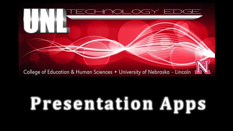 Tech Edge, iPads In The Classroom - Episode 42, Presentation