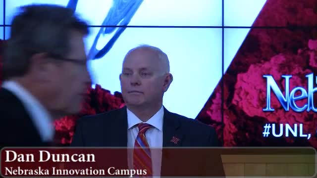Nebraska Innovation Campus and Conagra partnership celebration