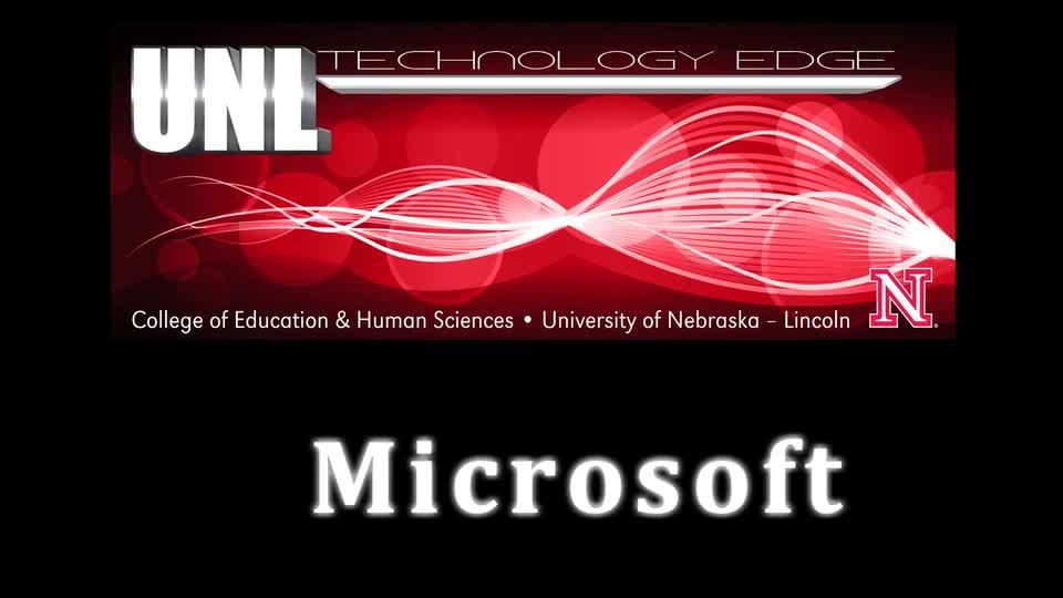 Tech Edge, iPads In The Classroom - Episode 46: Microsoft