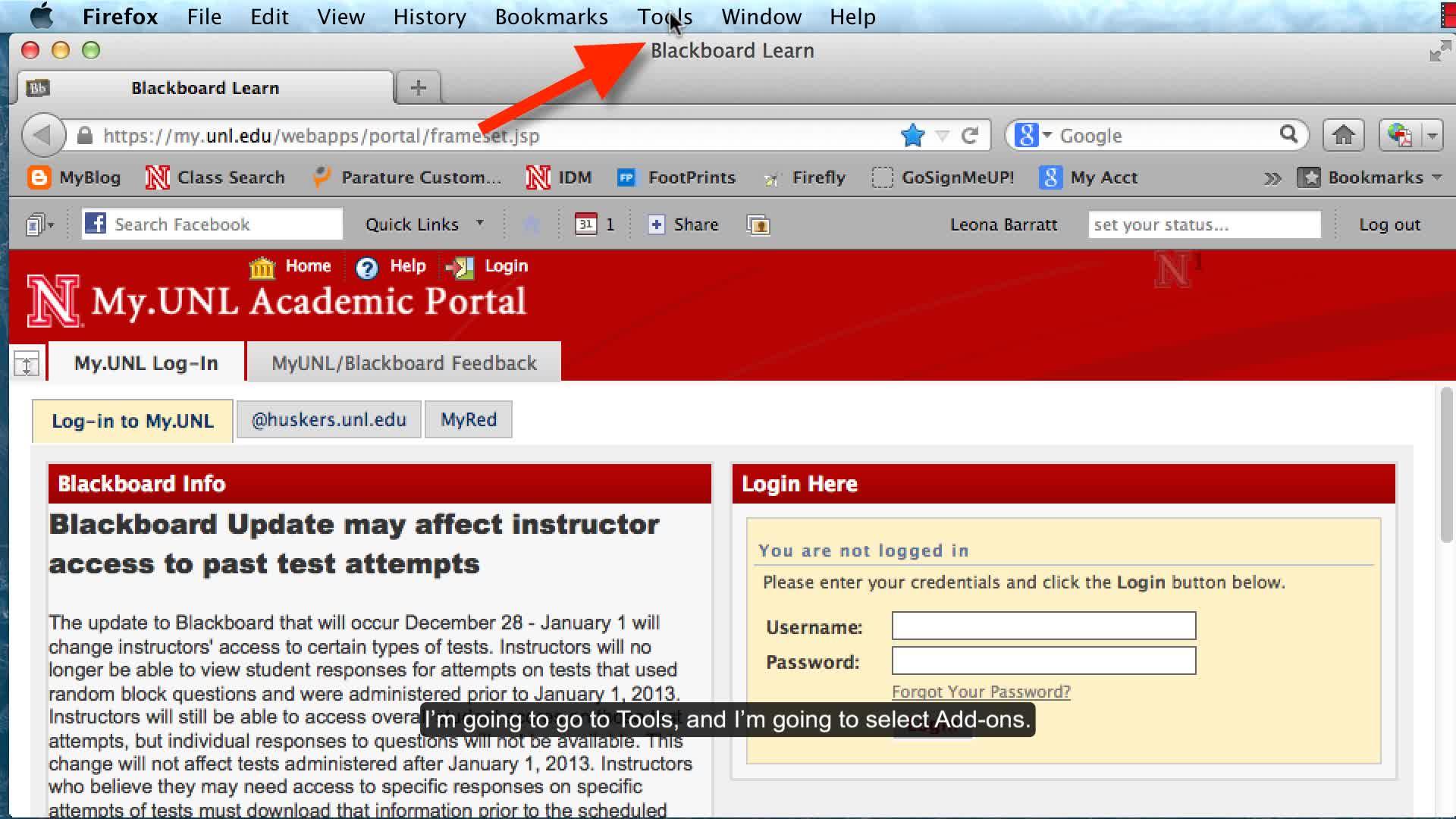 Turning off Java - Firefox
