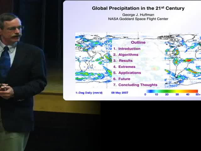 Spring 2013 Water Seminar Series - Global Precipitation in the 21st Century