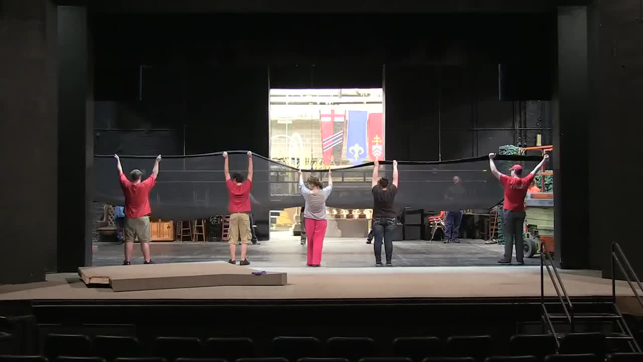 "Nebraska Rep gets the set together for ""Emma"""