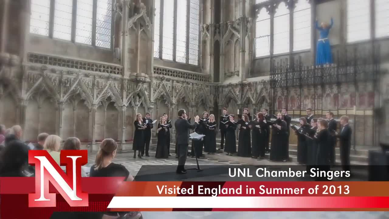 Chamber Singers Visit England