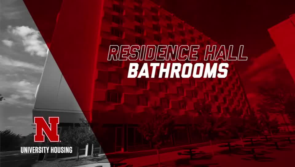 Traditional Residence Hall Bathroom Virtual Tour