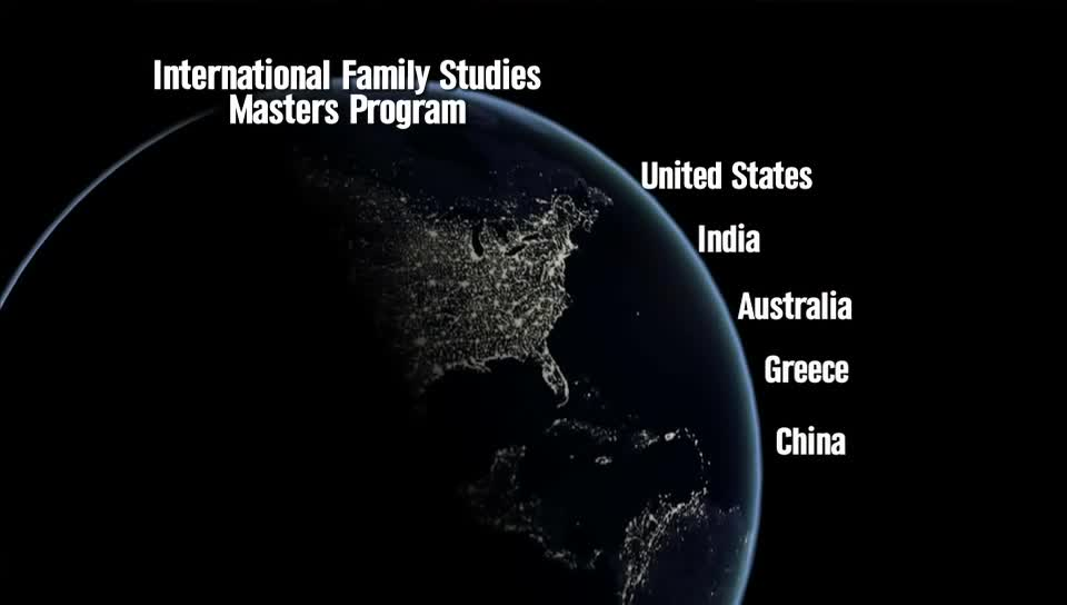 International Family Studies - Online Program - Child, Youth and Family Studies