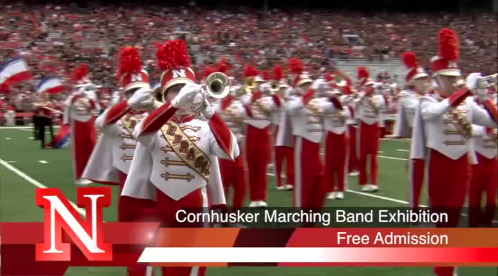 Cornhusker Marching Band Exhibition Commercial