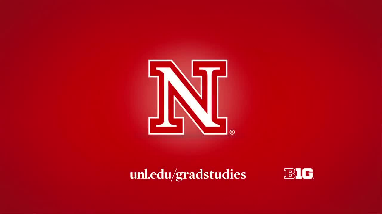 UNL Graduate Studies: Message from the Dean