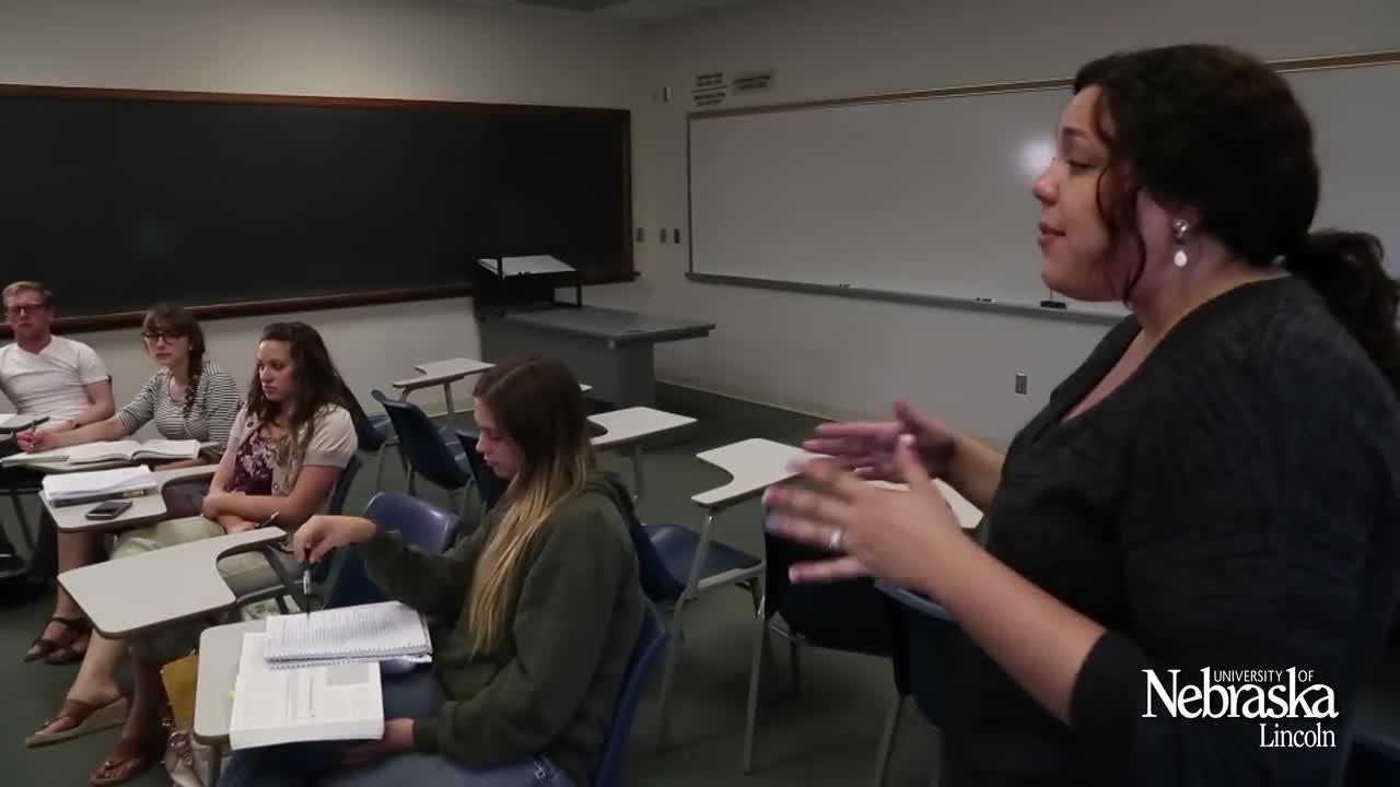 UNL Graduate Studies: Laura