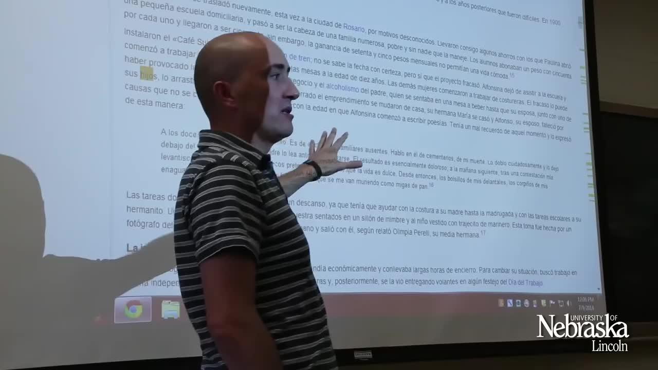 UNL Graduate Studies: Óscar