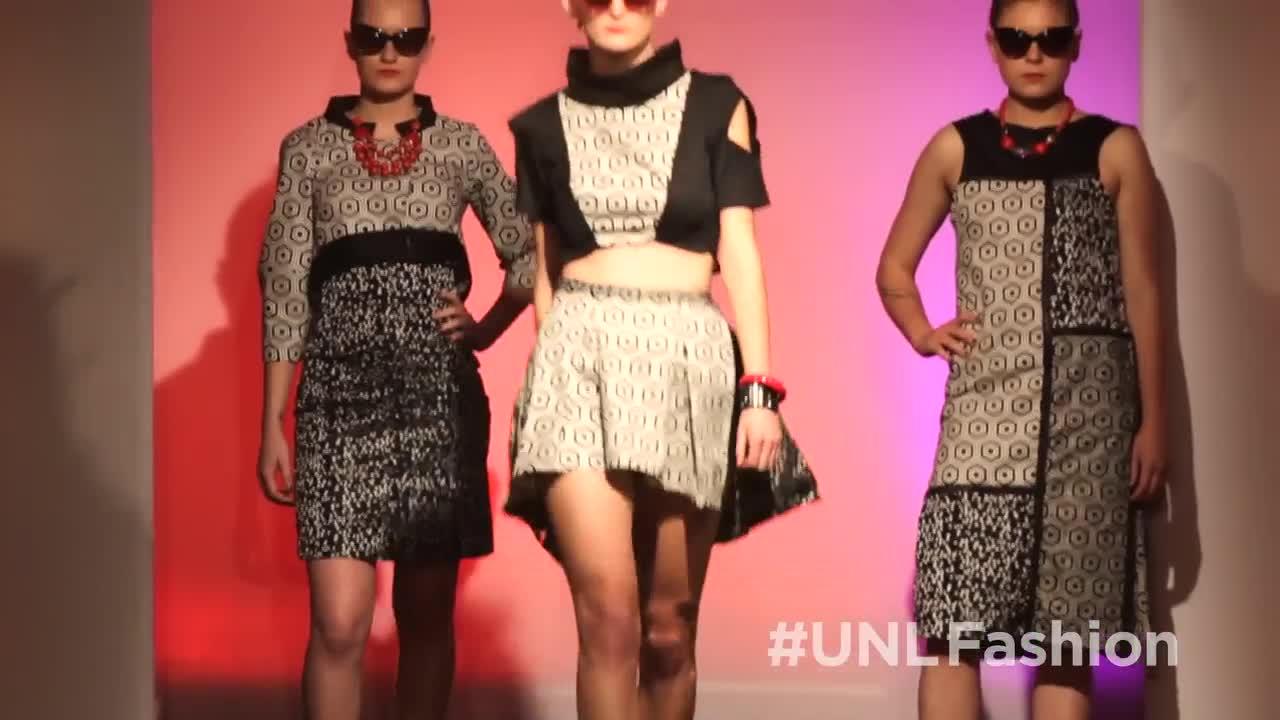 UNL Spring 2014 Biennial Student Runway Show - 60 second
