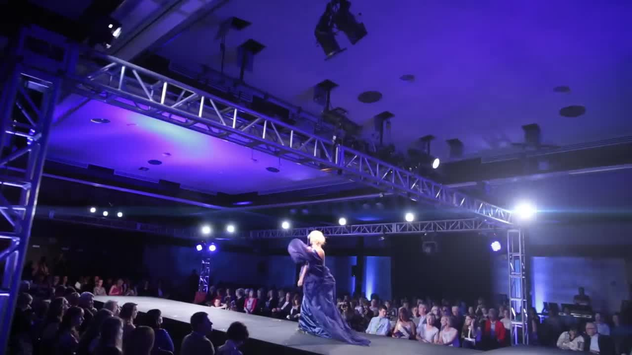 UNL Spring 2014 Biennial Student Runway Show - Theatrical
