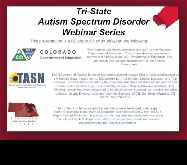 - How to Develop an Autism Parent Training Series in your District and Increase Collaboration and Engagement with Families -Part 1