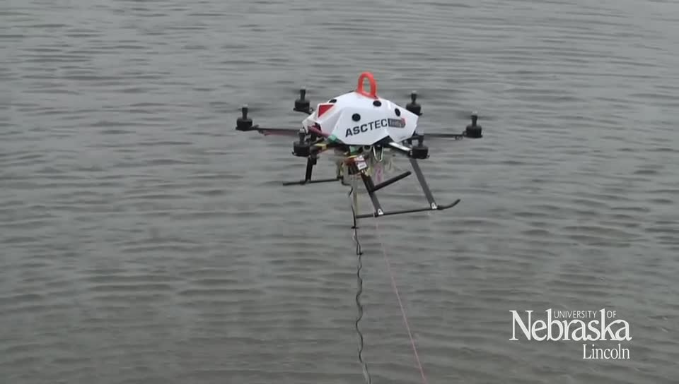 Water Sample Collecting Drone