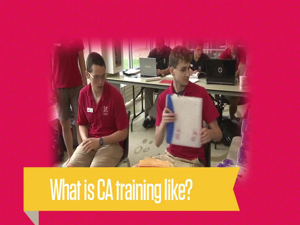 What is training like for Conference Assistants?