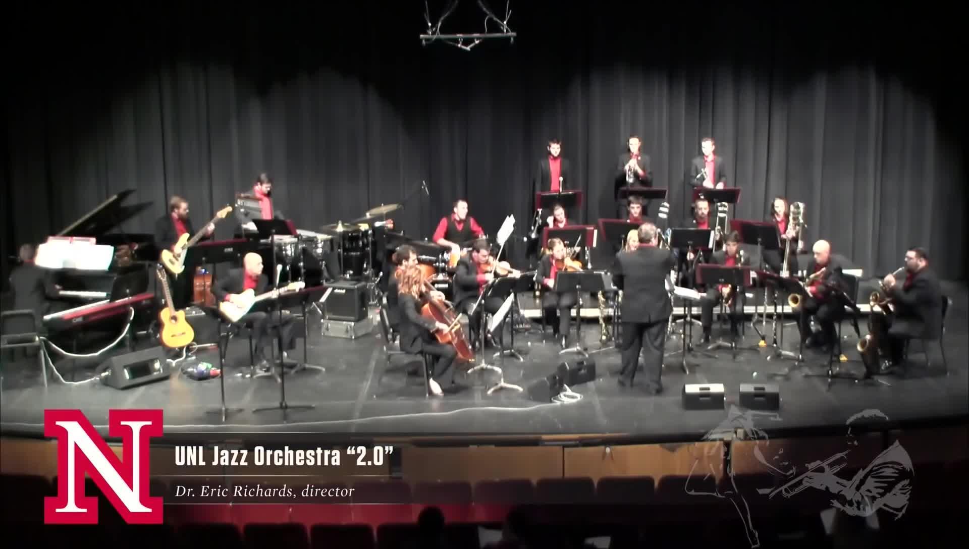 """UNL Jazz Orchestra """"2.0"""" - SAFE HAVEN"""