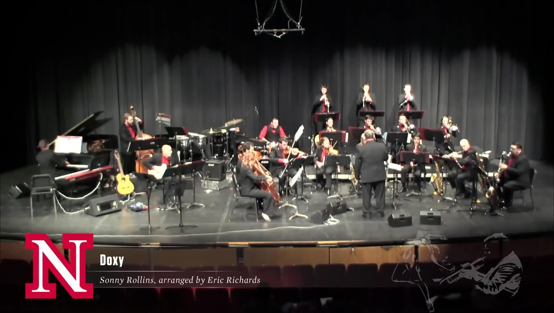 "UNL Jazz Orchestra ""2.0"" - DOXY"