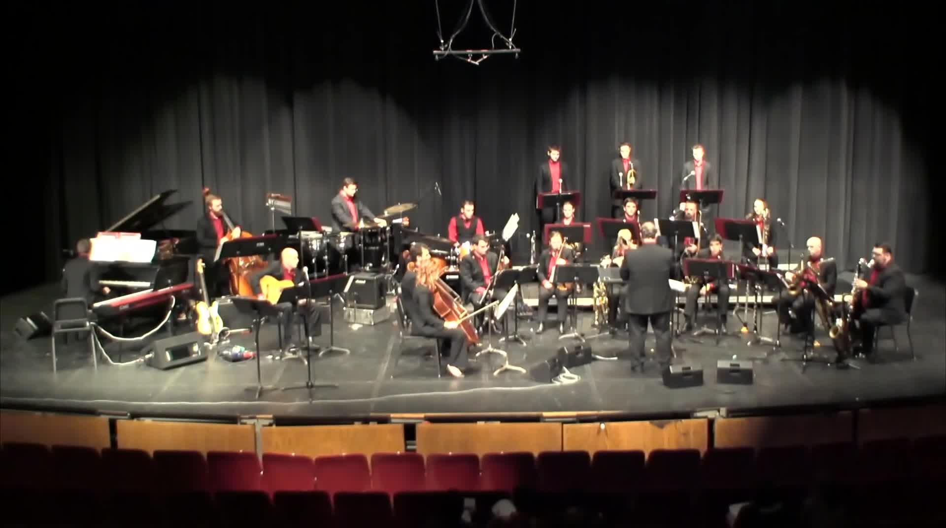 "UNL Jazz Orchestra ""2.0"" - LETTING GO"