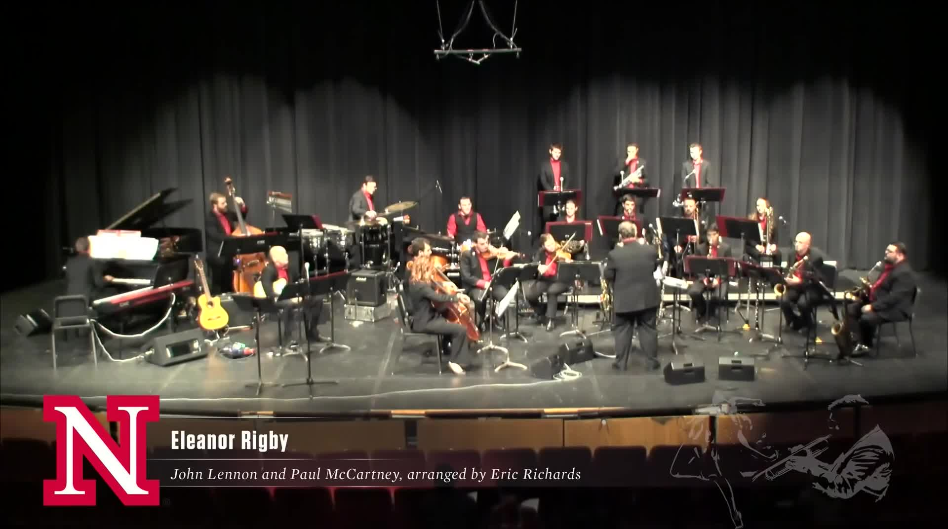 "UNL Jazz Orchestra ""2.0"" - ELEANOR RIGBY"