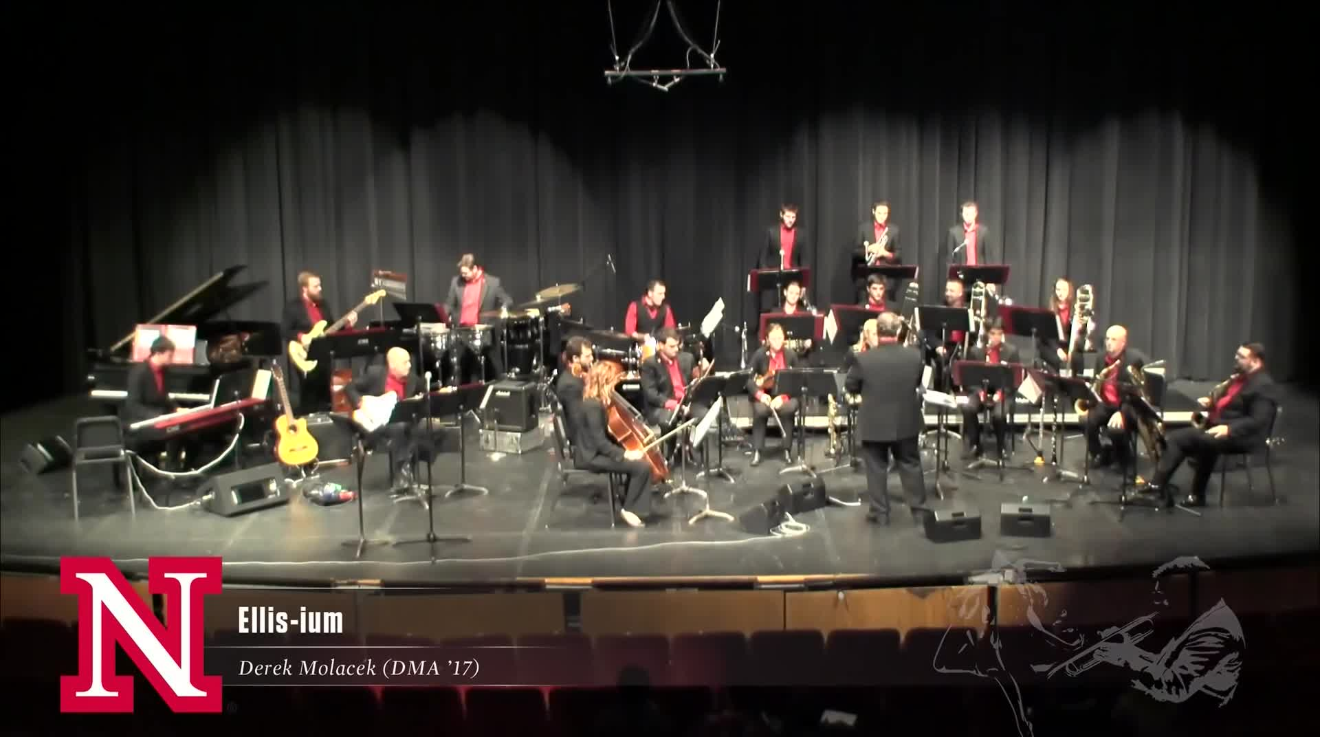 "UNL Jazz Orchestra ""2.0"" - ELLIS-IUM (Homage to Don Ellis)"