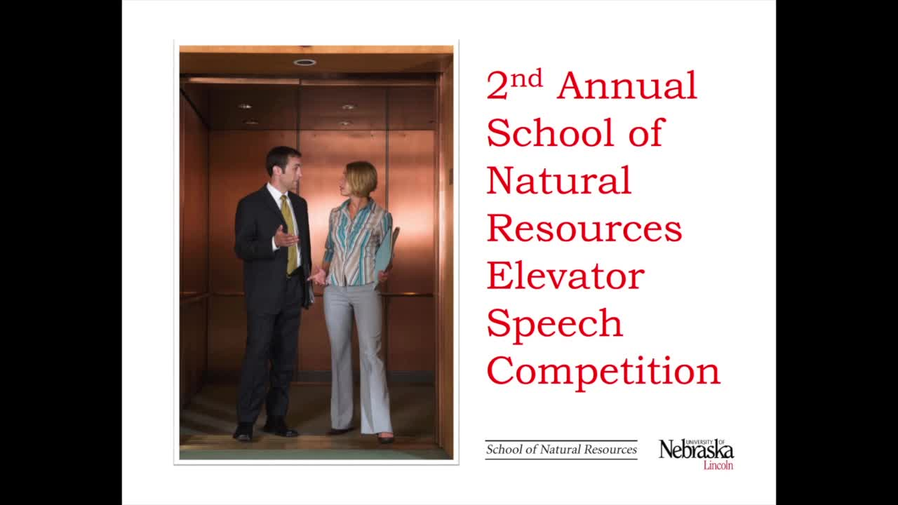 SNR Elevator Speech Synopsis 2015