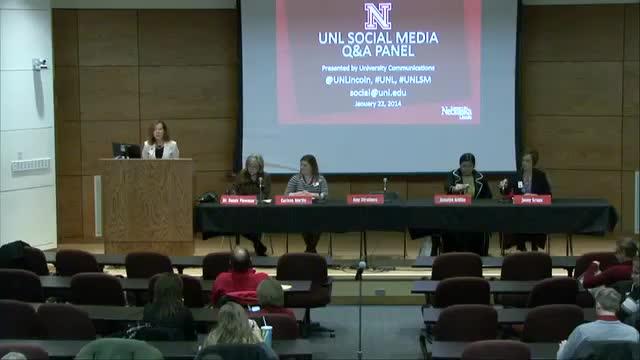UNL Social Media Q&A Panel