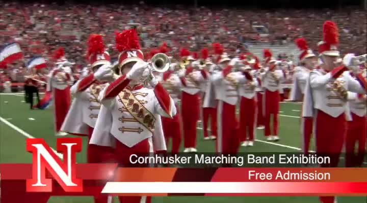 2015 Corhusker Marching Band Exhibition