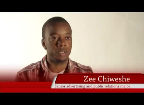 Zee Chiweshe talks about how he got his summer internship in California