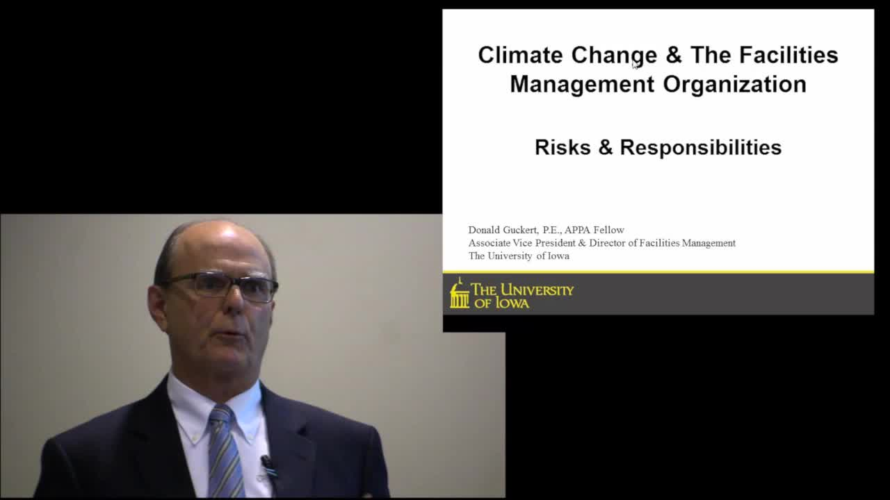 Climate Changes in Facilities Management Organization: Risk and Responsibilites