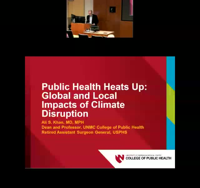 Public Health Heats Up: Global and Local Impacts of Climate Disruption