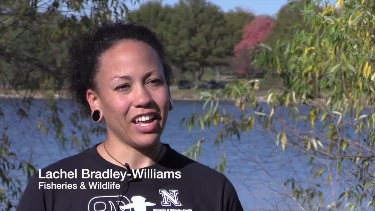 Lachel Bradley-Williams, Fisheries and Wildlife Undergraduate Major
